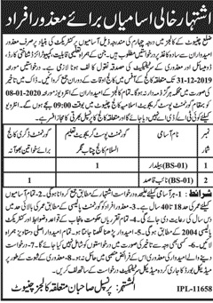 Government-Of-Punjab-Jobs-In-Chaniot-For-Beldar-Naib-Qasid-and-Others-December-2019